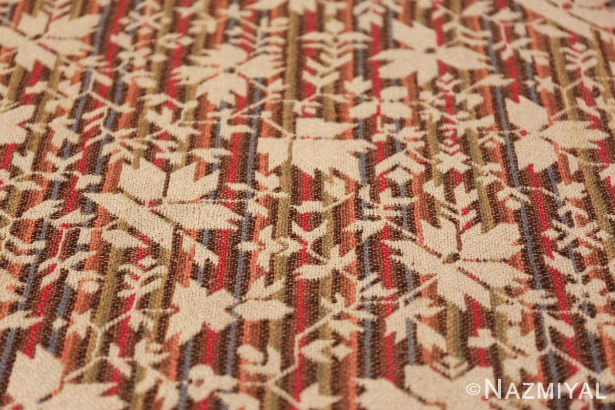 antique ingrain american rug 2586 lines Nazmiyal