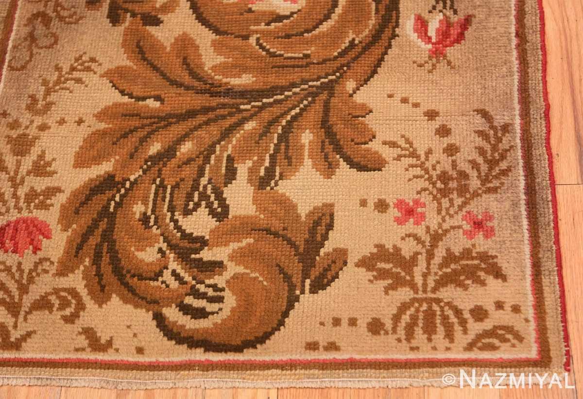 Corner Antique English rug 2892 by Nazmiyal