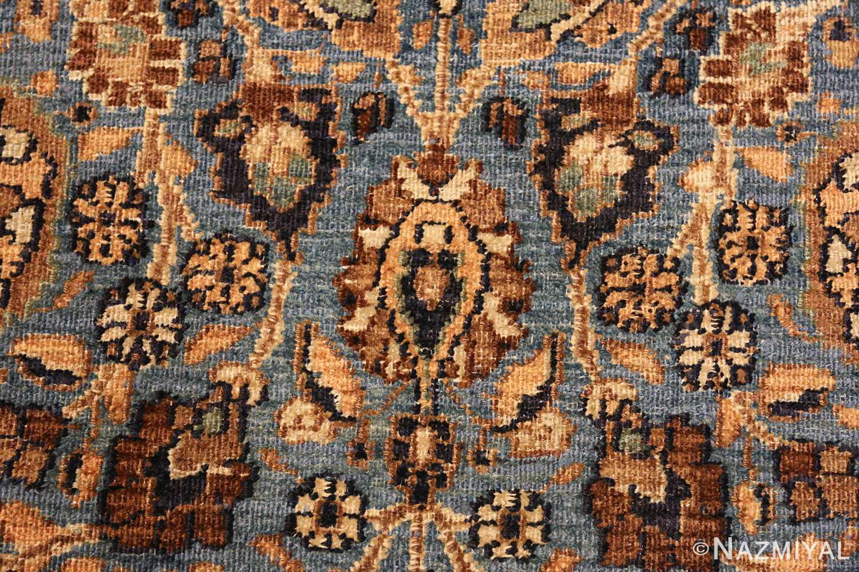 persian antique khorassan rug 41778 closeup Nazmiyal