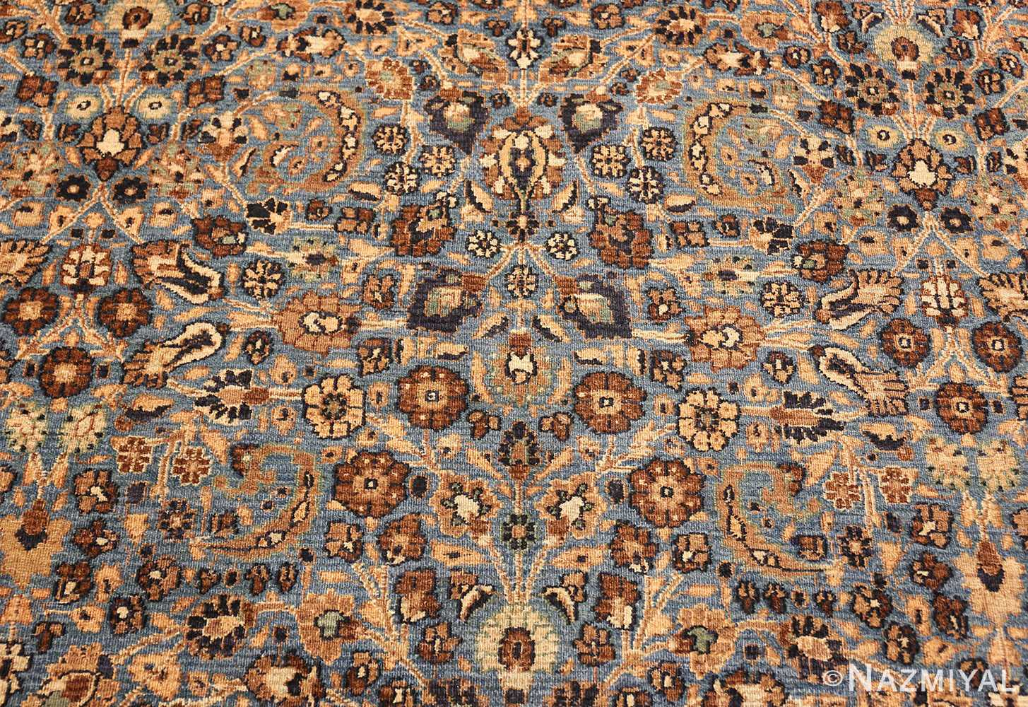 persian antique khorassan rug 41778 flowers Nazmiyal