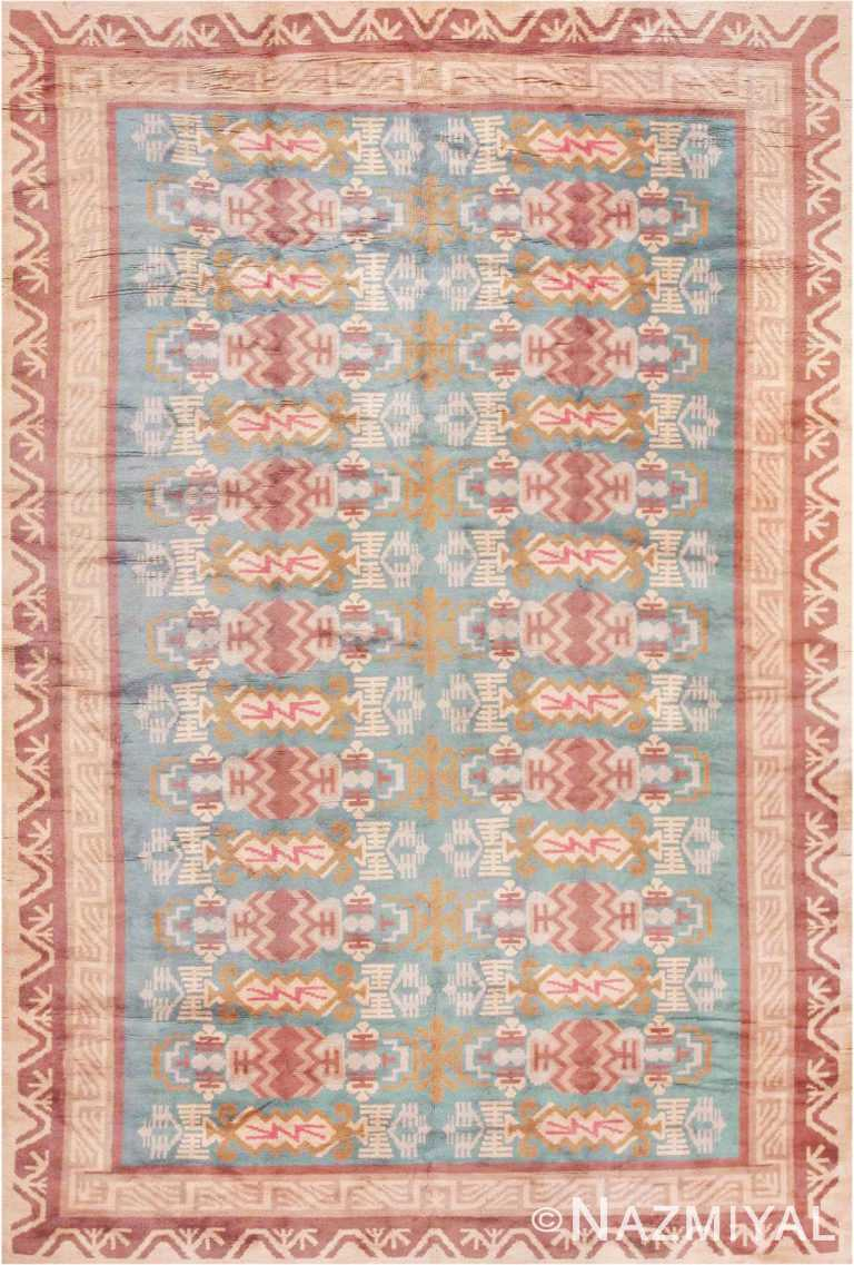 Vintage Room Size Mid Century Scandinavian Swedish Pile Rug #44610 by Nazmiyal Antique Rugs