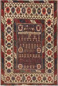 Antique Avar Turkish Rug 44636 Nazmiyal