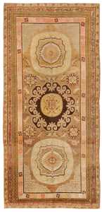 Antique Khotan Oriental Rug 44940 Nazmiyal