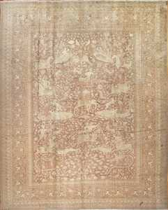 Antique Indian Oriental Rug 42296 Nazmiyal