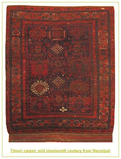 Antique Tribal Timuri Baluch Rug by Nazmiyal