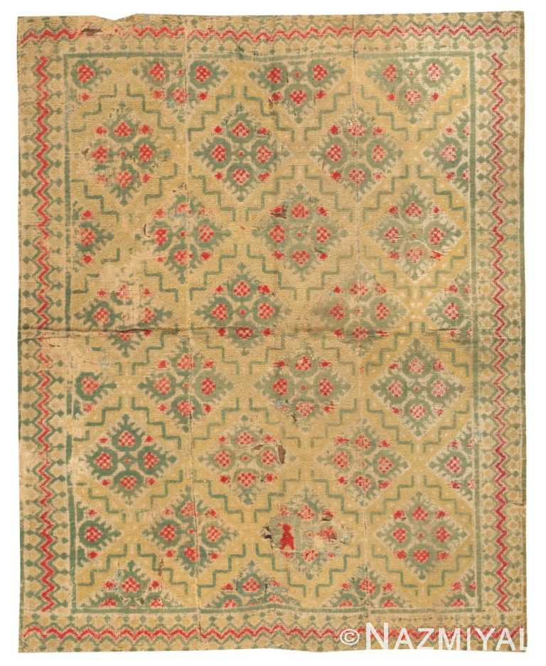 Antique Alpujarra Rug 2605 Nazmiyal