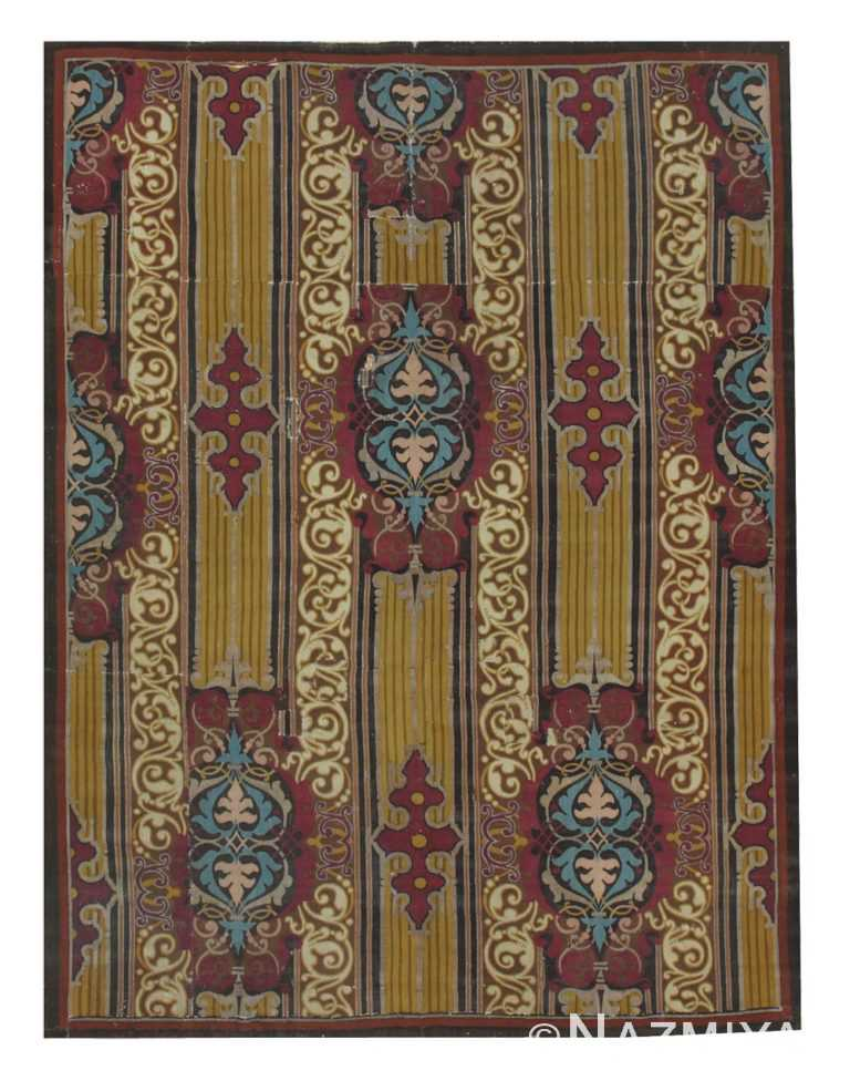 Antique Aubusson French Rug 44477 Nazmiyal