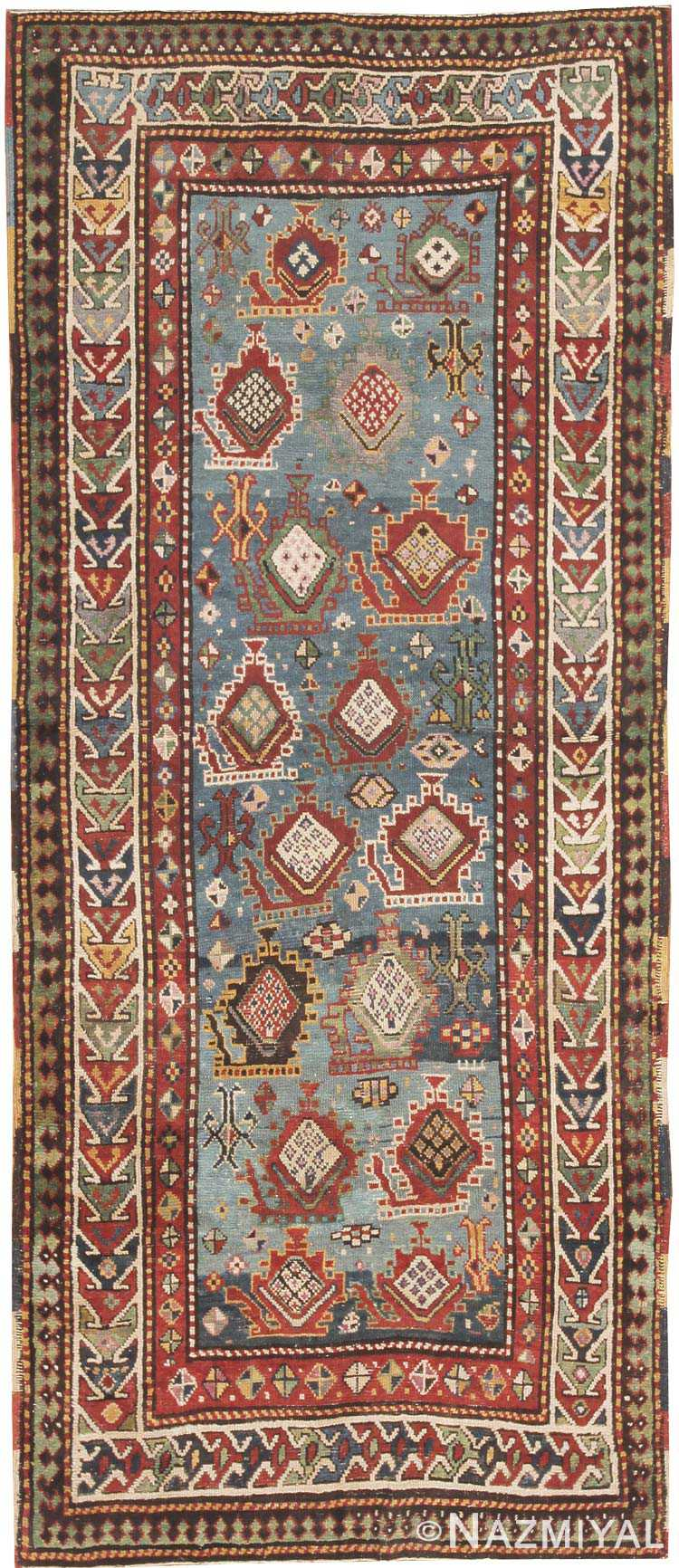 Antique Kazak Caucasian Rug 44563 Nazmiyal