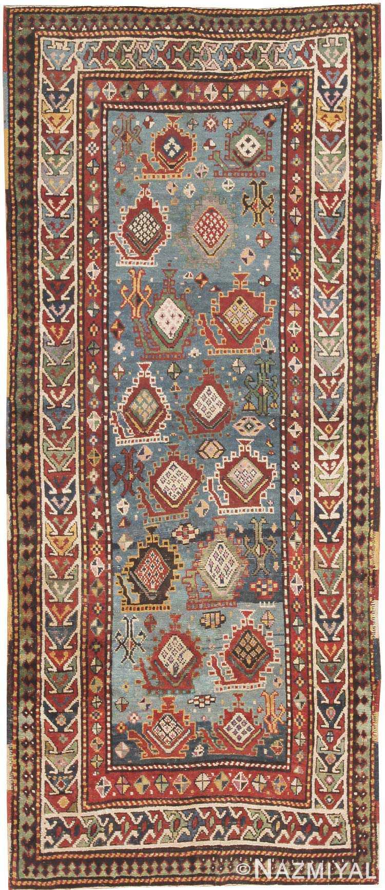 Antique Kazak Caucasian Rug 44563 Nazmiyal