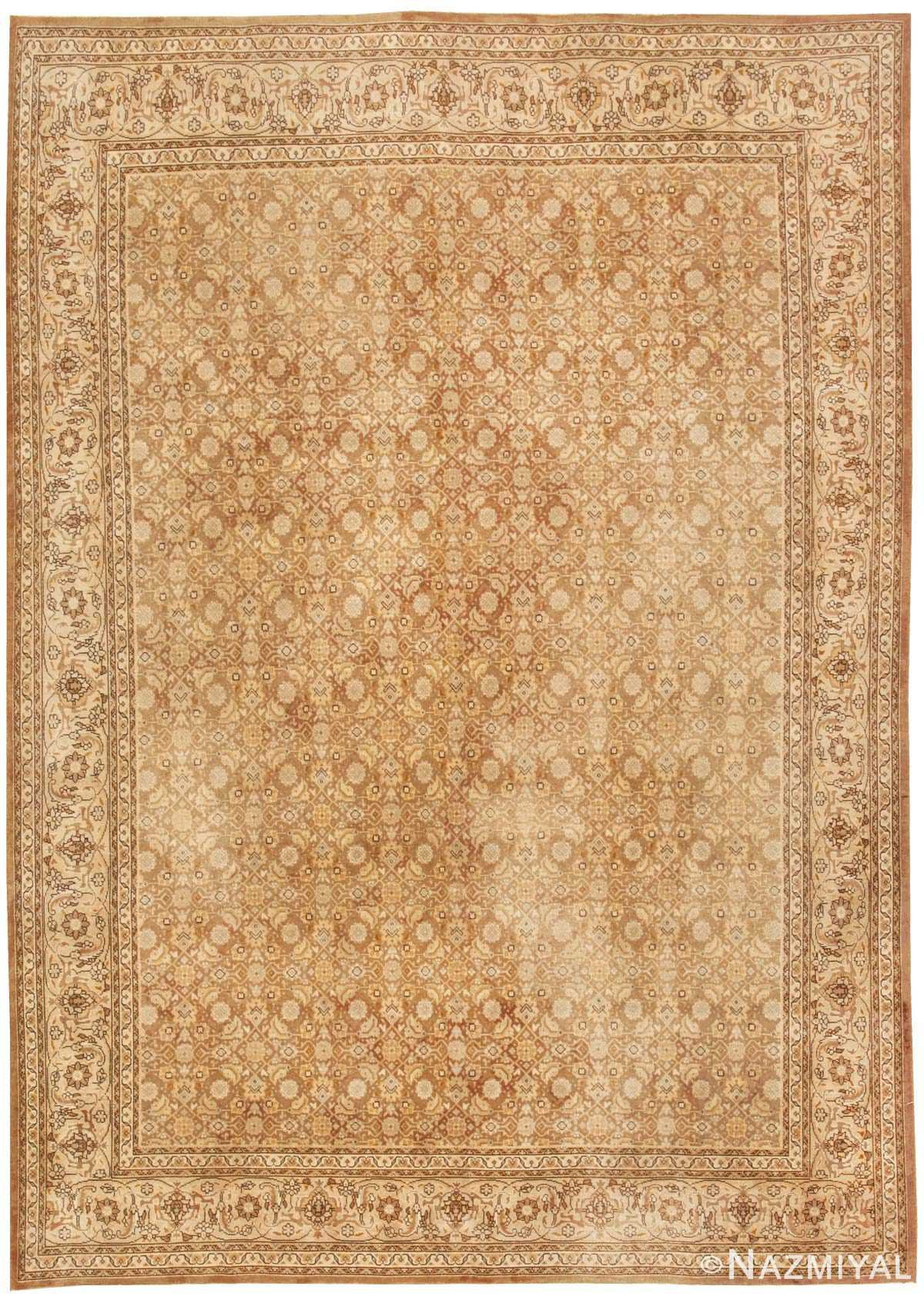 Antique Tabriz Persian Rug 44600 Nazmiyal