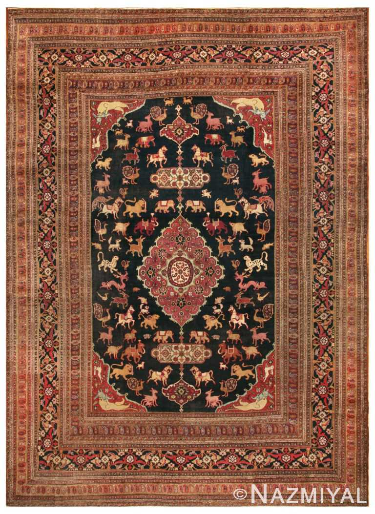 Antique Khorassan Persian Rug 44624 Nazmiyal