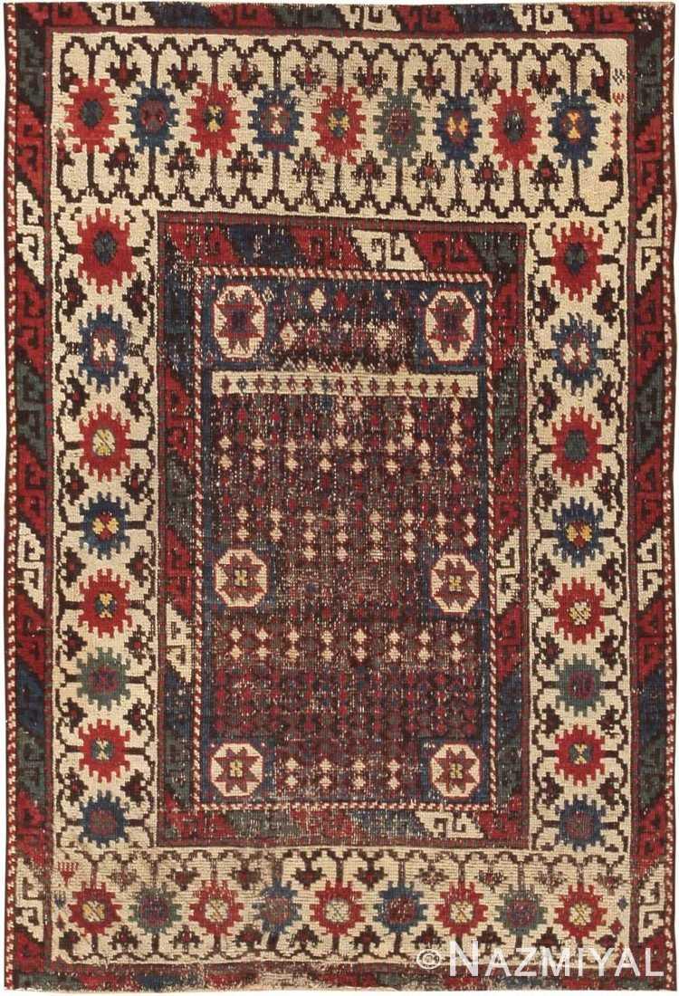 Antique Avar Turkish Rug 44636 Nazmiyal