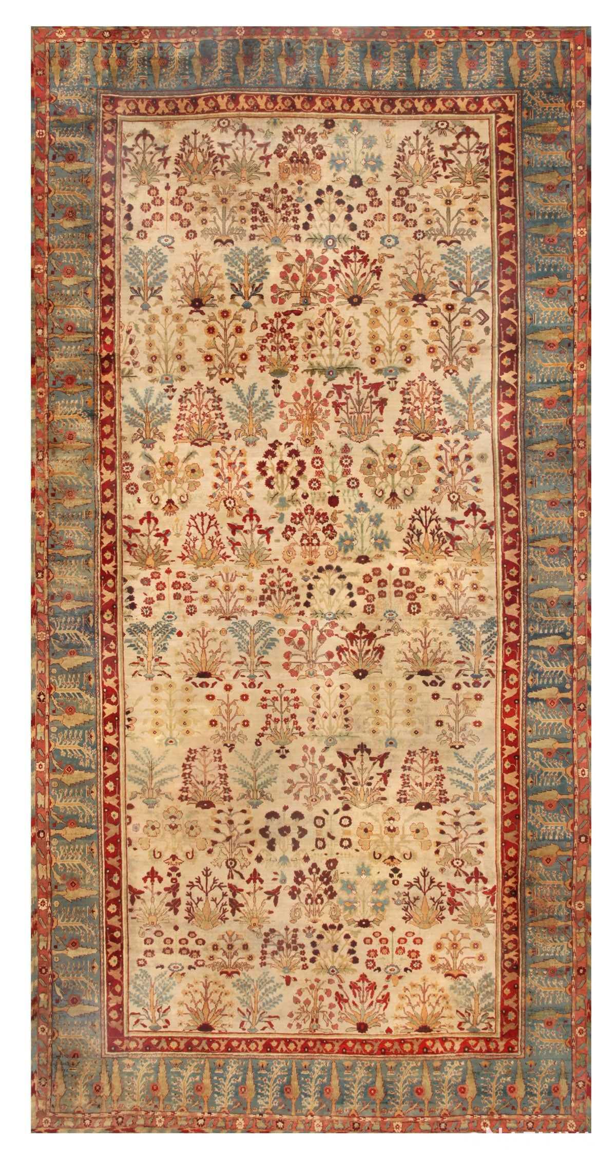 Antique Agra Oriental Rugs 44887 Nazmiyal