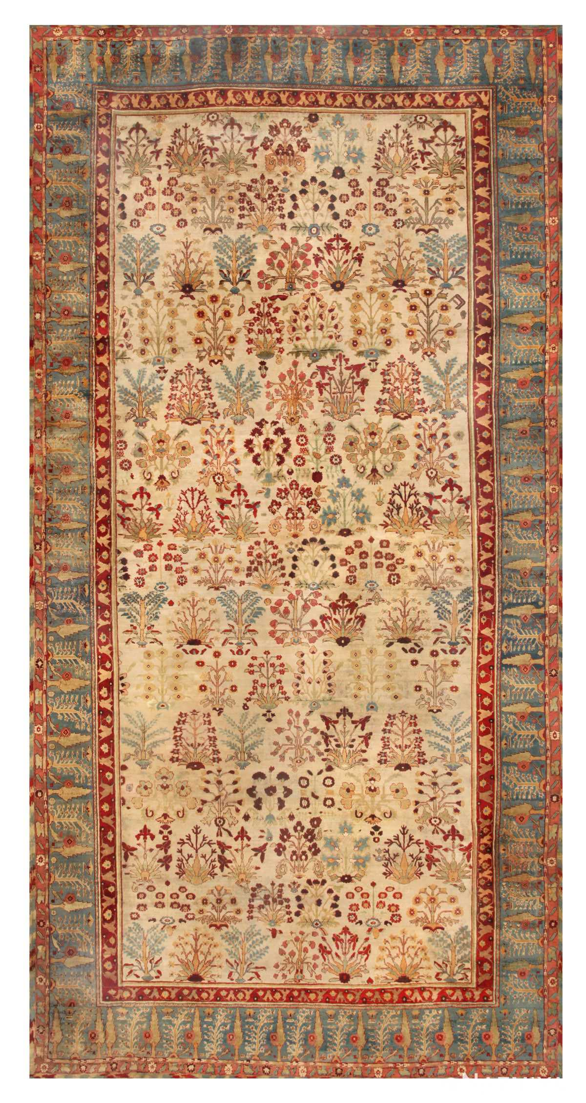 Antique Agra Oriental Rugs 44887 Nazmiyal