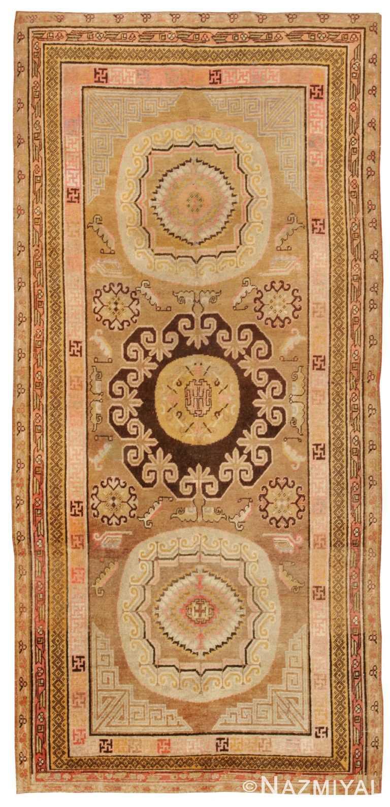 Antique Khotan Oriental Rug 44940 Nazmiyal