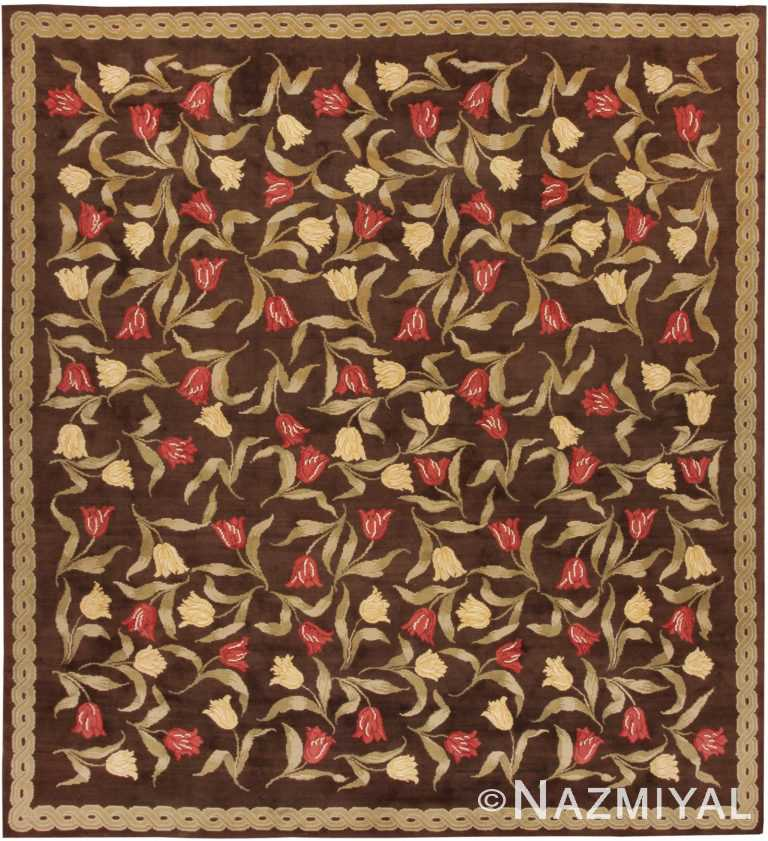Antique Savonnerie Spanish Rug 44949 Nazmiyal