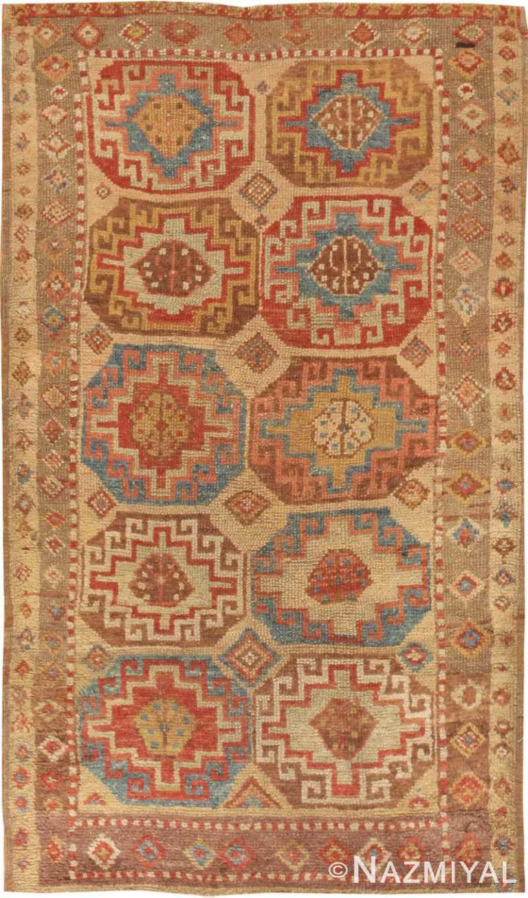 Antique Konya Turkish Rug 45018 Nazmiyal