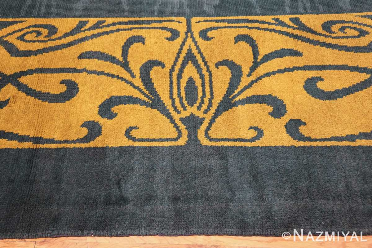 antique art nouveau french rug 43139 border Nazmiyal