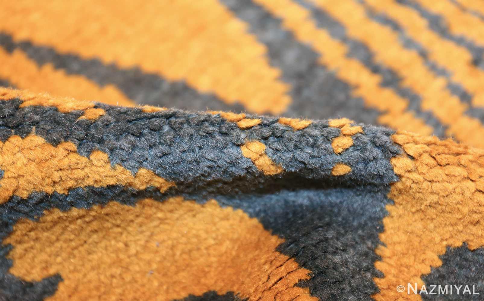 antique art nouveau french rug 43139 pile Nazmiyal