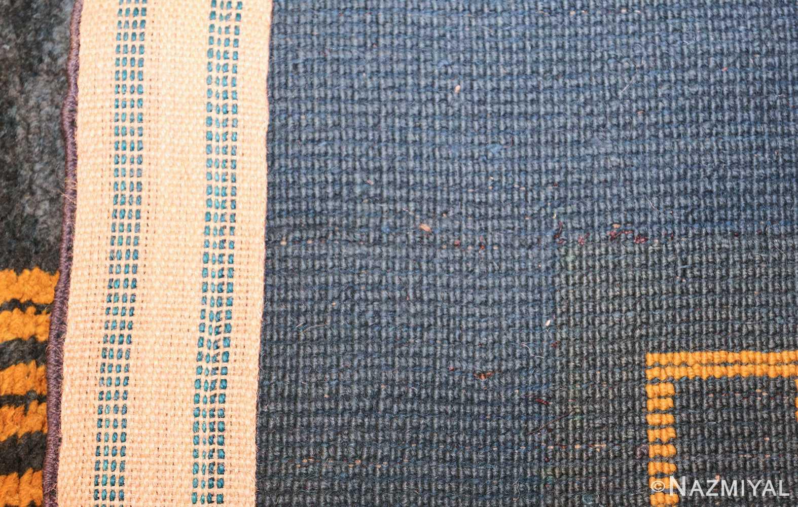 antique art nuveau french rug 43139 weave Nazmiyal