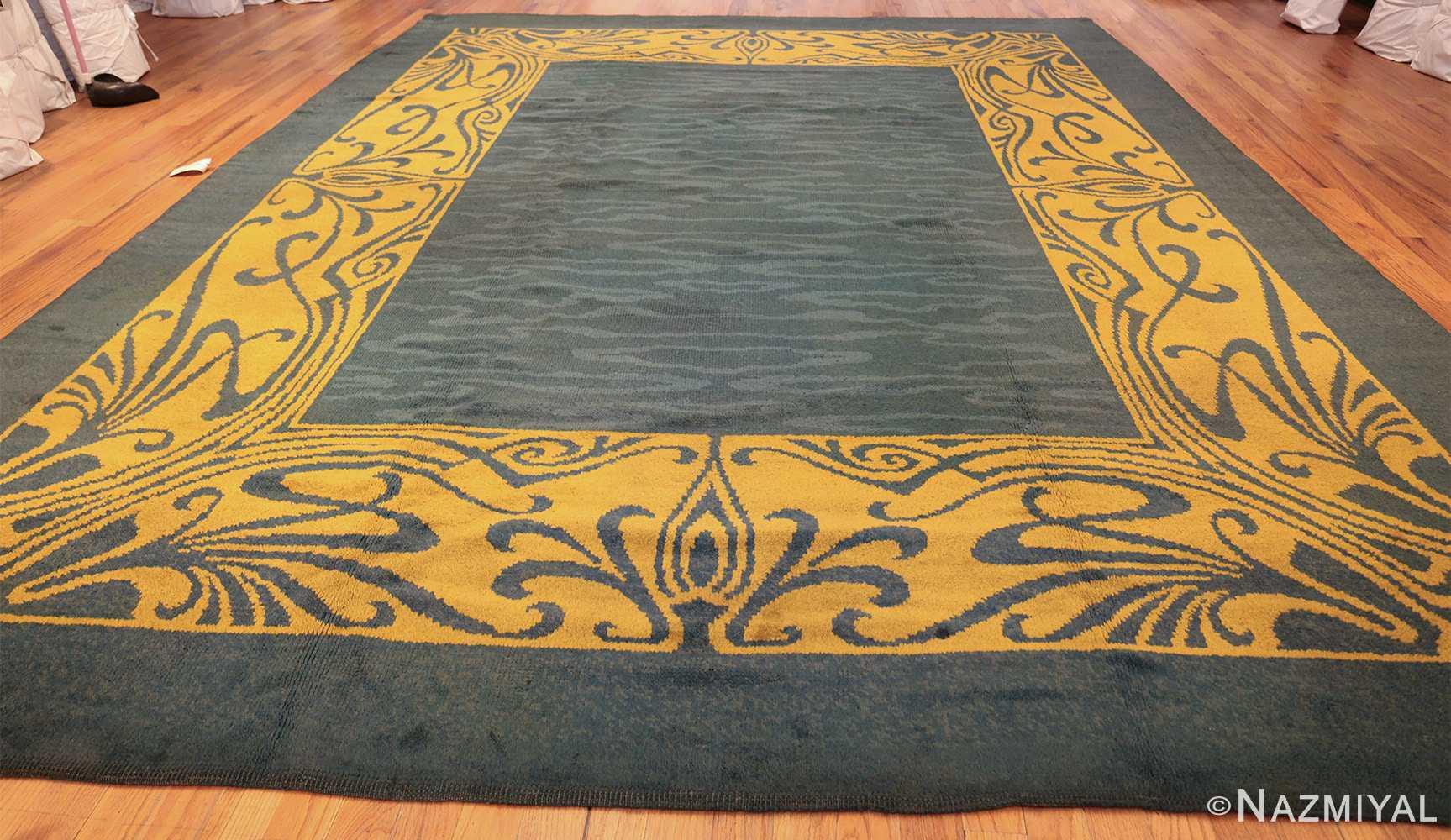 antique art nouveau french rug 43139 whole Nazmiyal