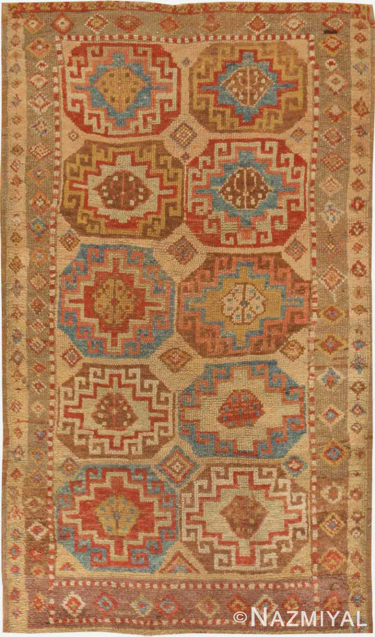 Antique Konya Turkish Rug #45018 by Nazmiyal Antique Rugs