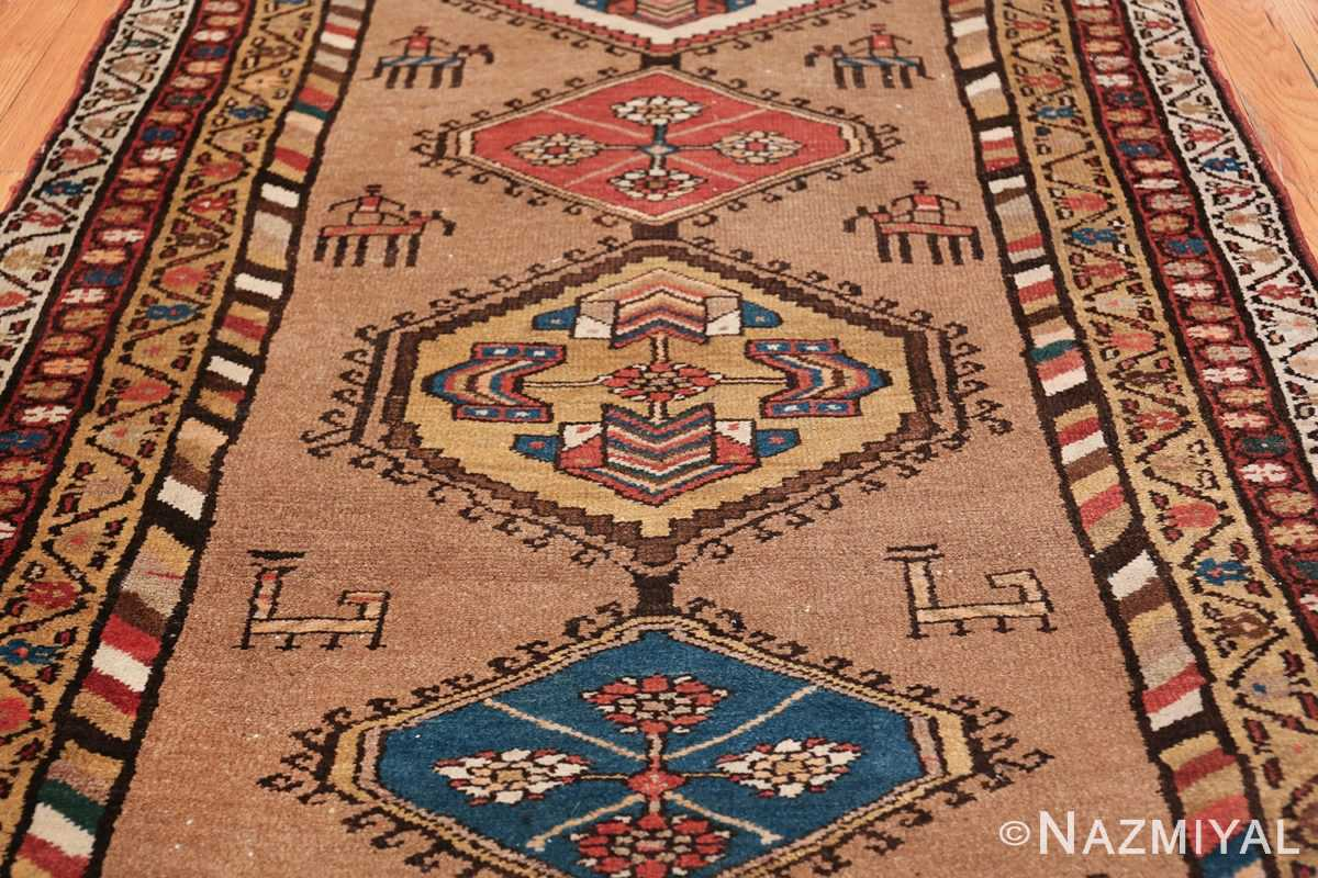 Antique Persian Bakshaish Runner Rug 41944 Four Medallion Nazmiyal
