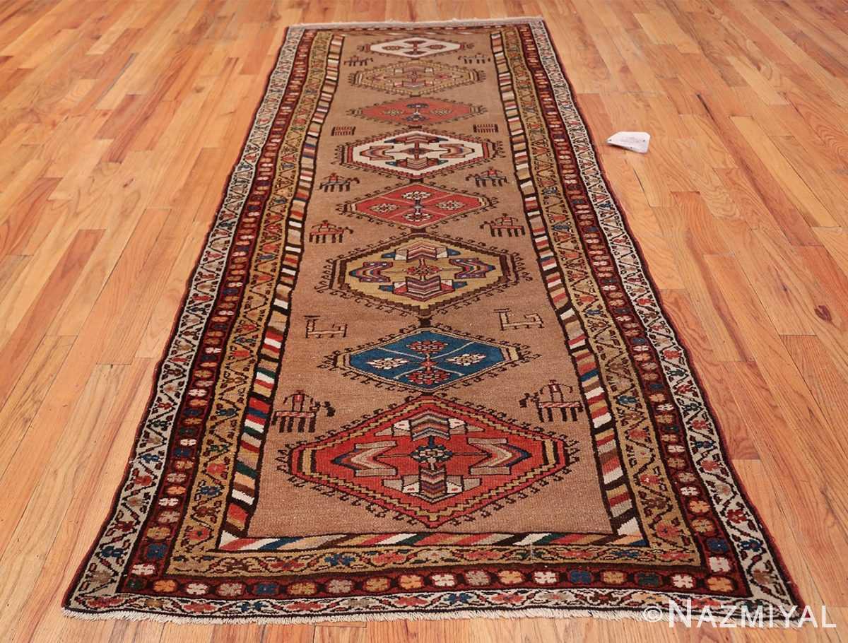 Antique Persian Bakshaish Runner Rug 41944 Whole Design Nazmiyal