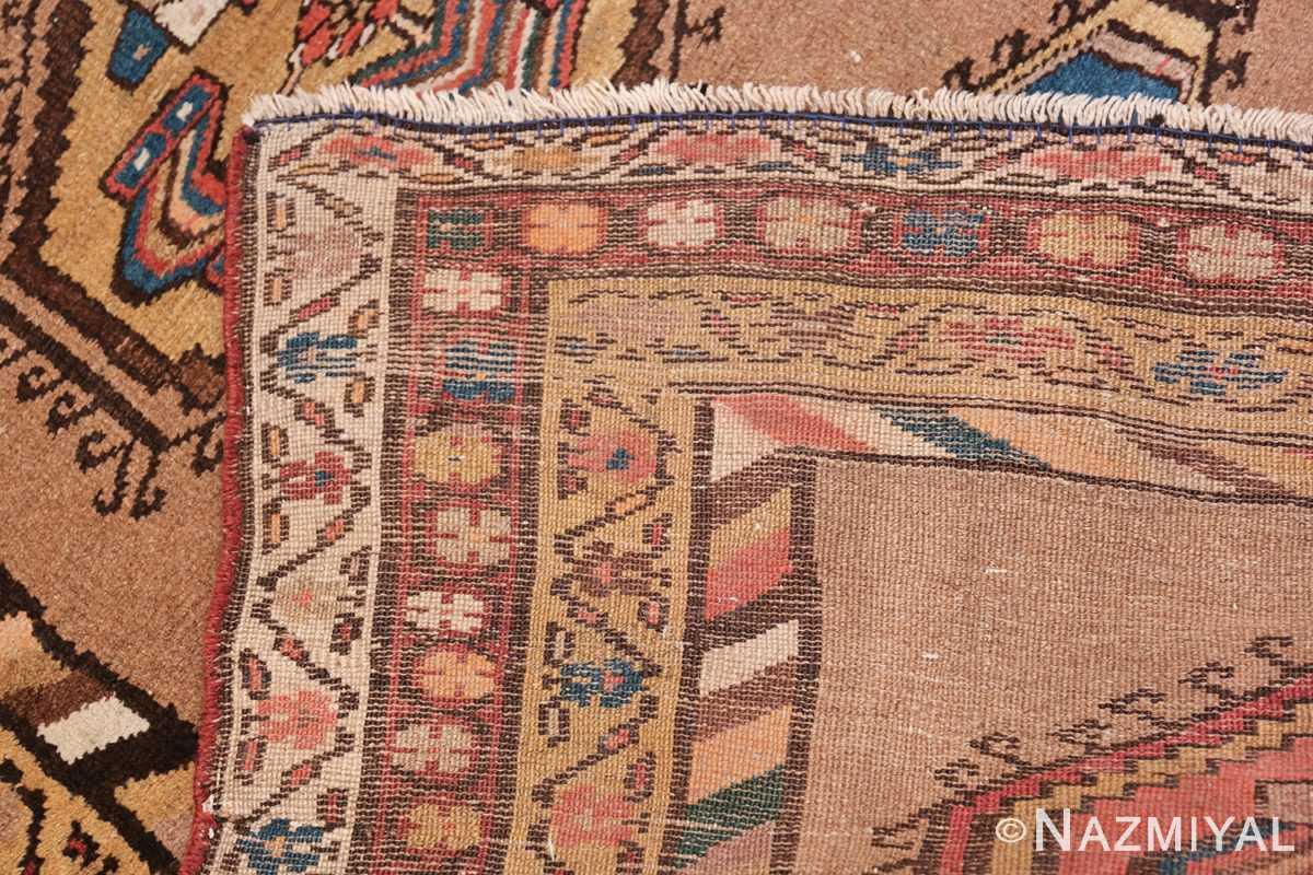 Antique Persian Bakshaish Runner Rug 41944 Woven Knots Nazmiyal