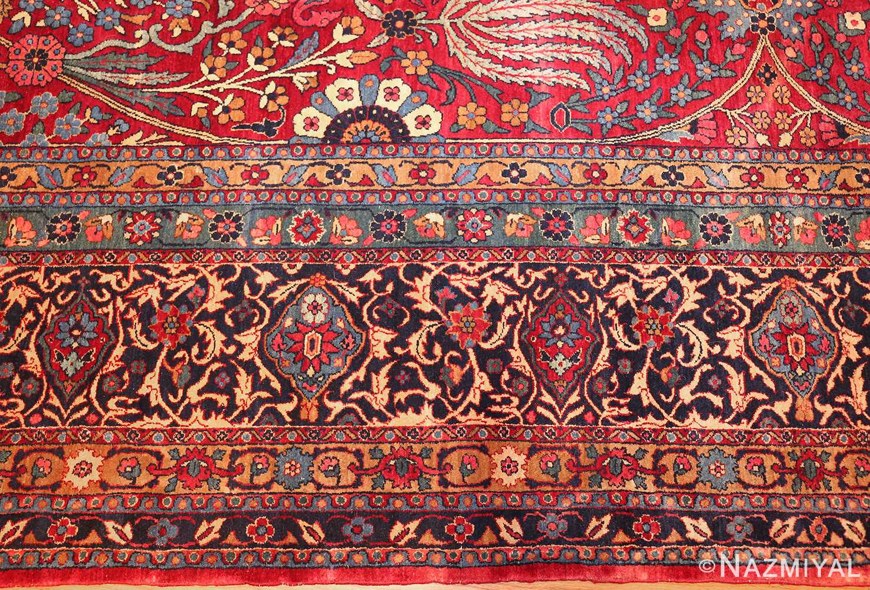 antique persian kerman rug 44449 border Nazmiyal