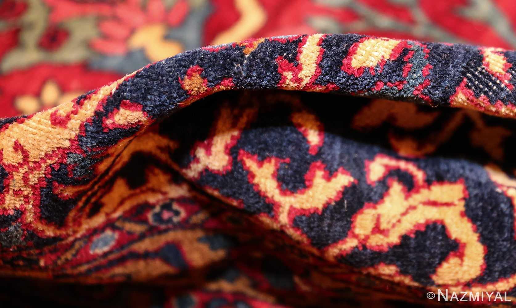 antique persian kerman rug 44449 pile Nazmiyal
