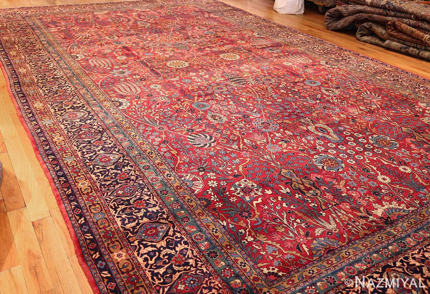 antique persian kerman rug 44449 side Nazmiyal