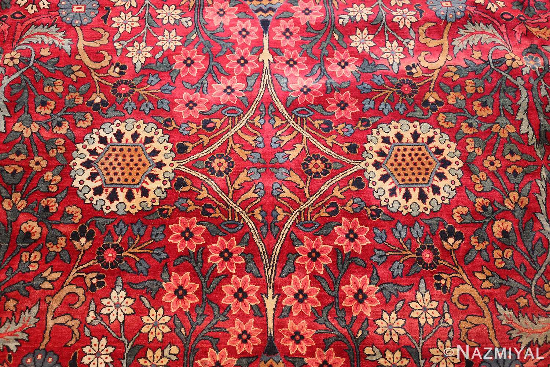 antique persian kerman rug 44449 white Nazmiyal