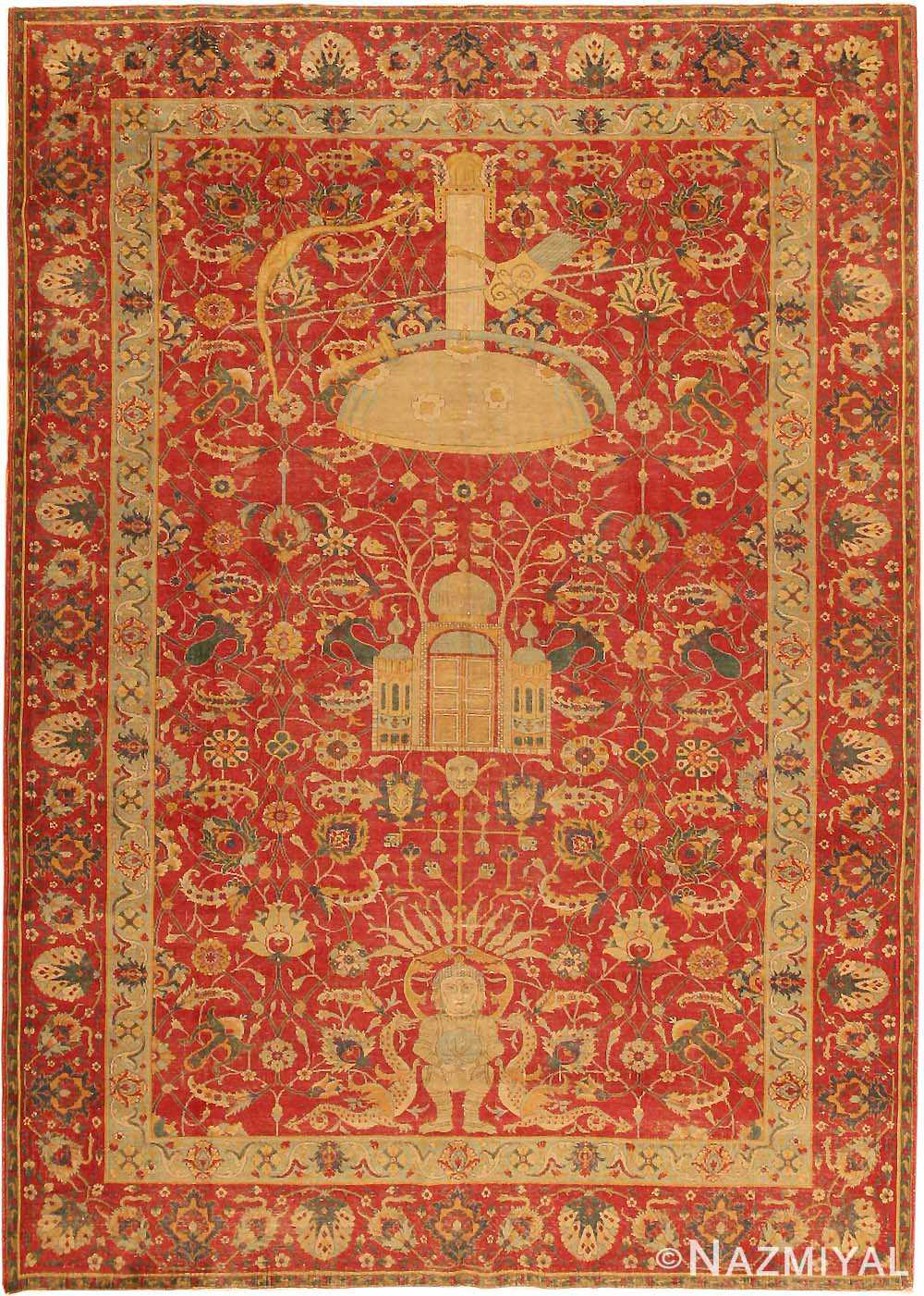 Antique Turkish Tuduc Rug 786
