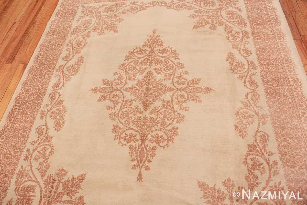 Field Fine Decorative Antique Persian Kerman rug 42415 by Nazmiyal