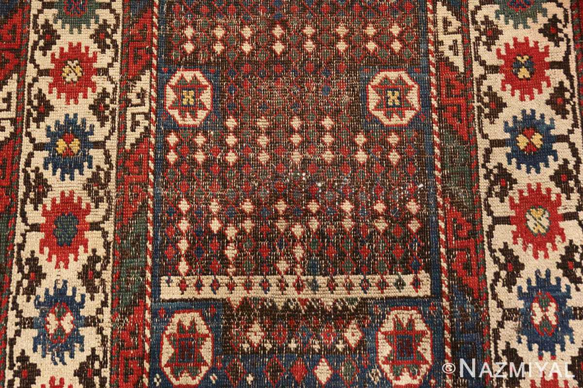FIeld Small Tribal Antique Caucasian Avar rug 44636 by Nazmiyal
