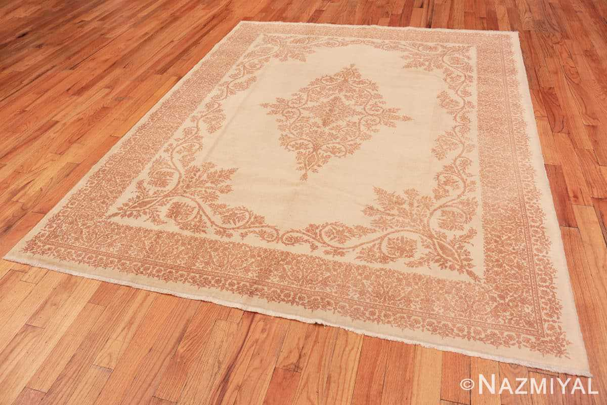 Full Fine Decorative Antique Persian Kerman rug 42415 by Nazmiyal