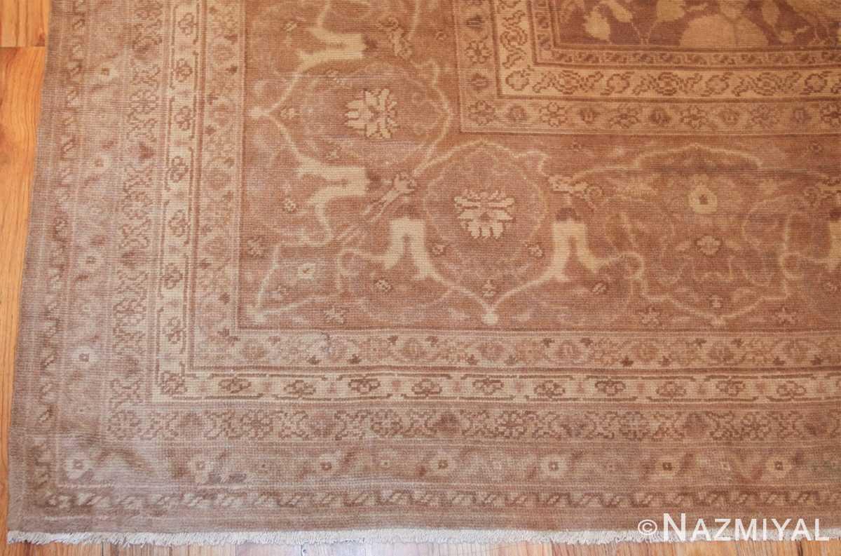 large shabby chic antique amritsar indian rug 42296 corner Nazmiyal