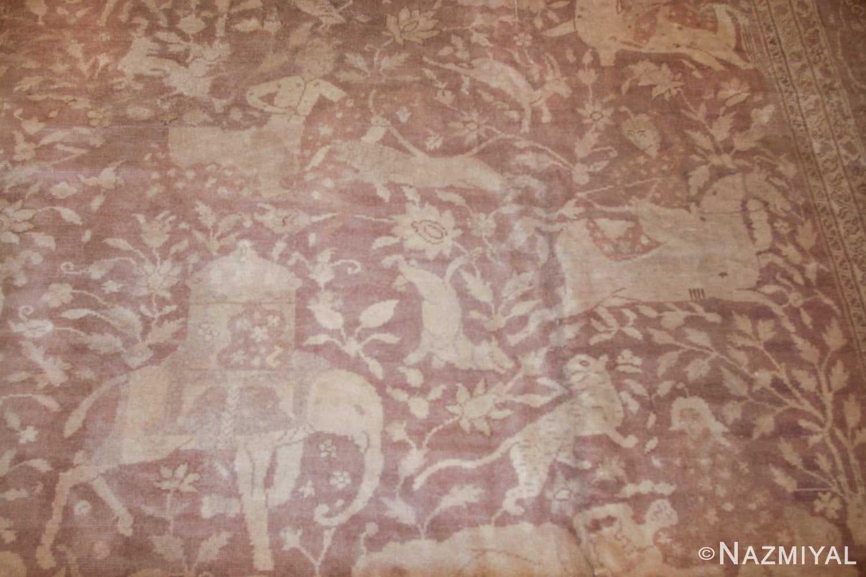 large shabby chic antique amritsar indian rug 42296 field Nazmiyal