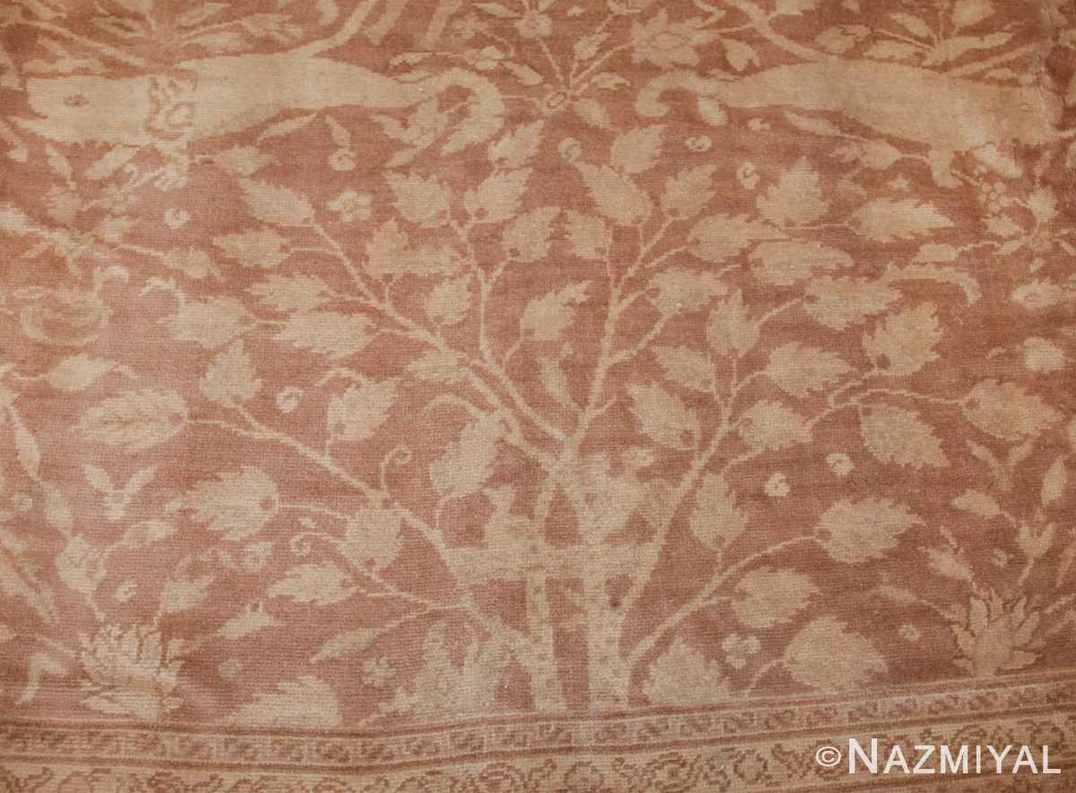 large shabby chic antique amritsar indian rug 42296 tree Nazmiyal