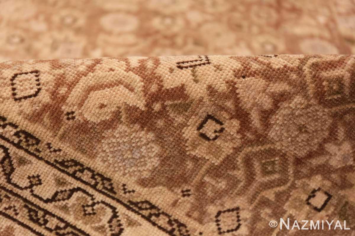 Pile Shabby chic Antique Persian Tabriz rug 44600 by Nazmiyal