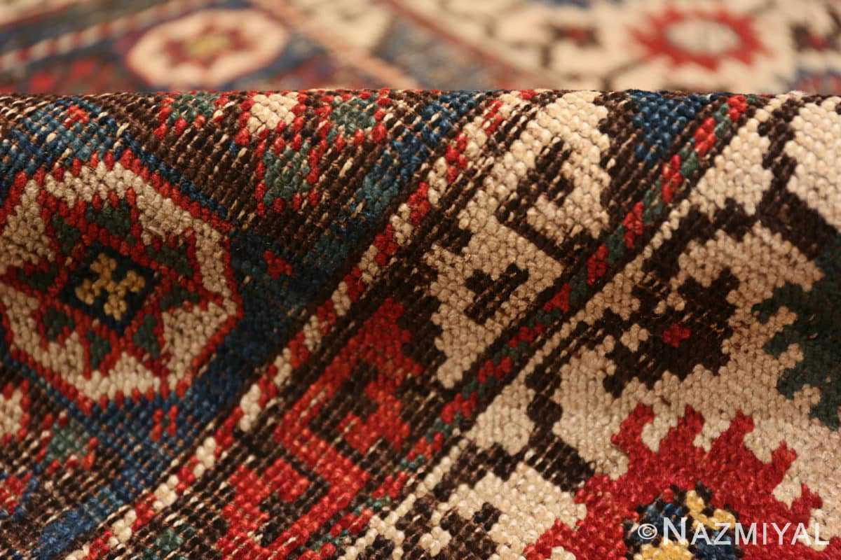 Pile Small Tribal Antique Caucasian Avar rug 44636 by Nazmiyal