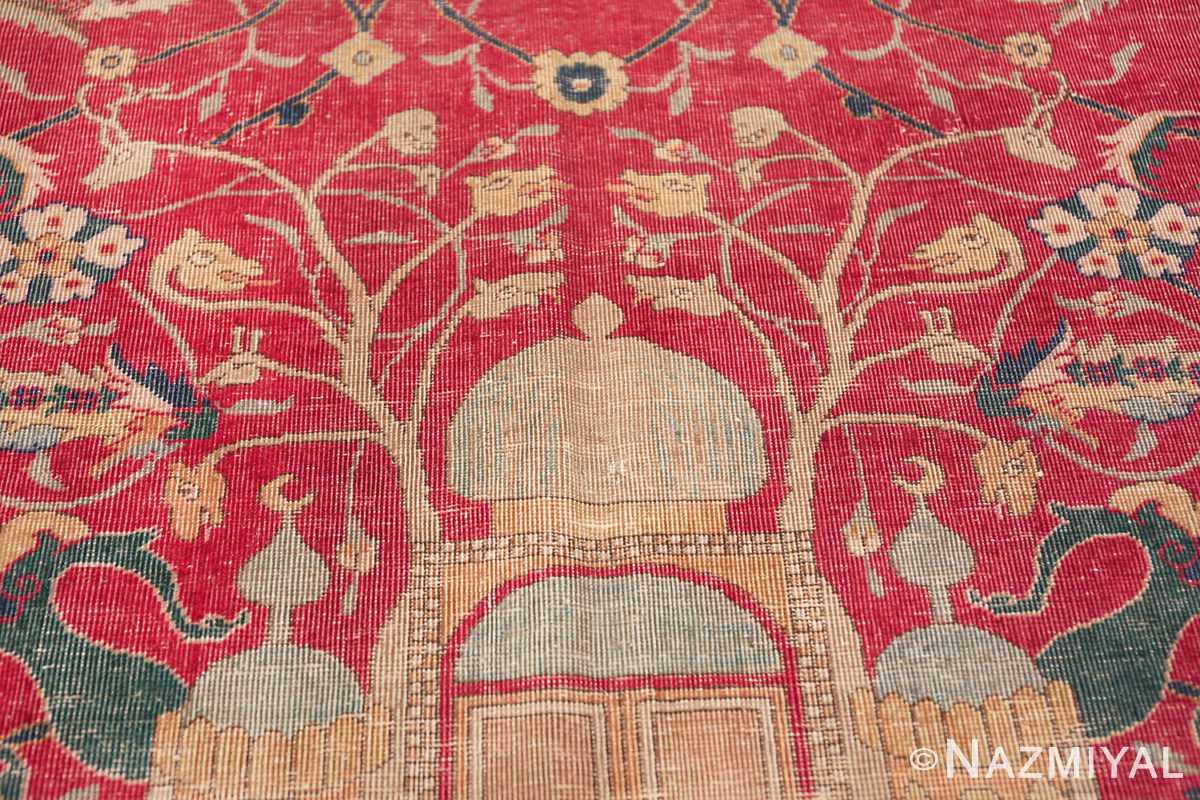 rare and collectible antique turkish tuduc rug 786 branches Nazmiyal