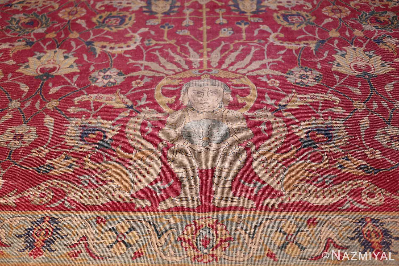 rare and collectible antique turkish tuduc rug 786 king Nazmiyal