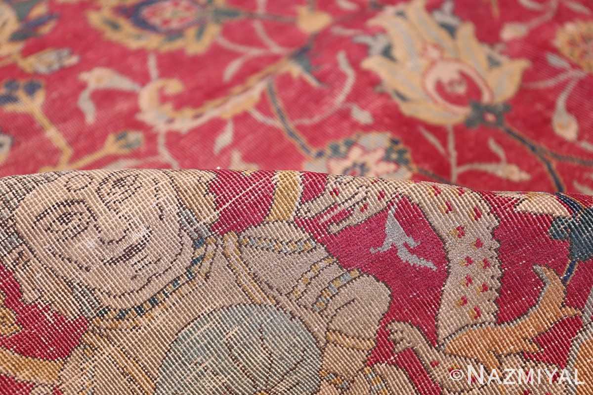 rare and collectible antique turkish tuduc rug 786 pile Nazmiyal