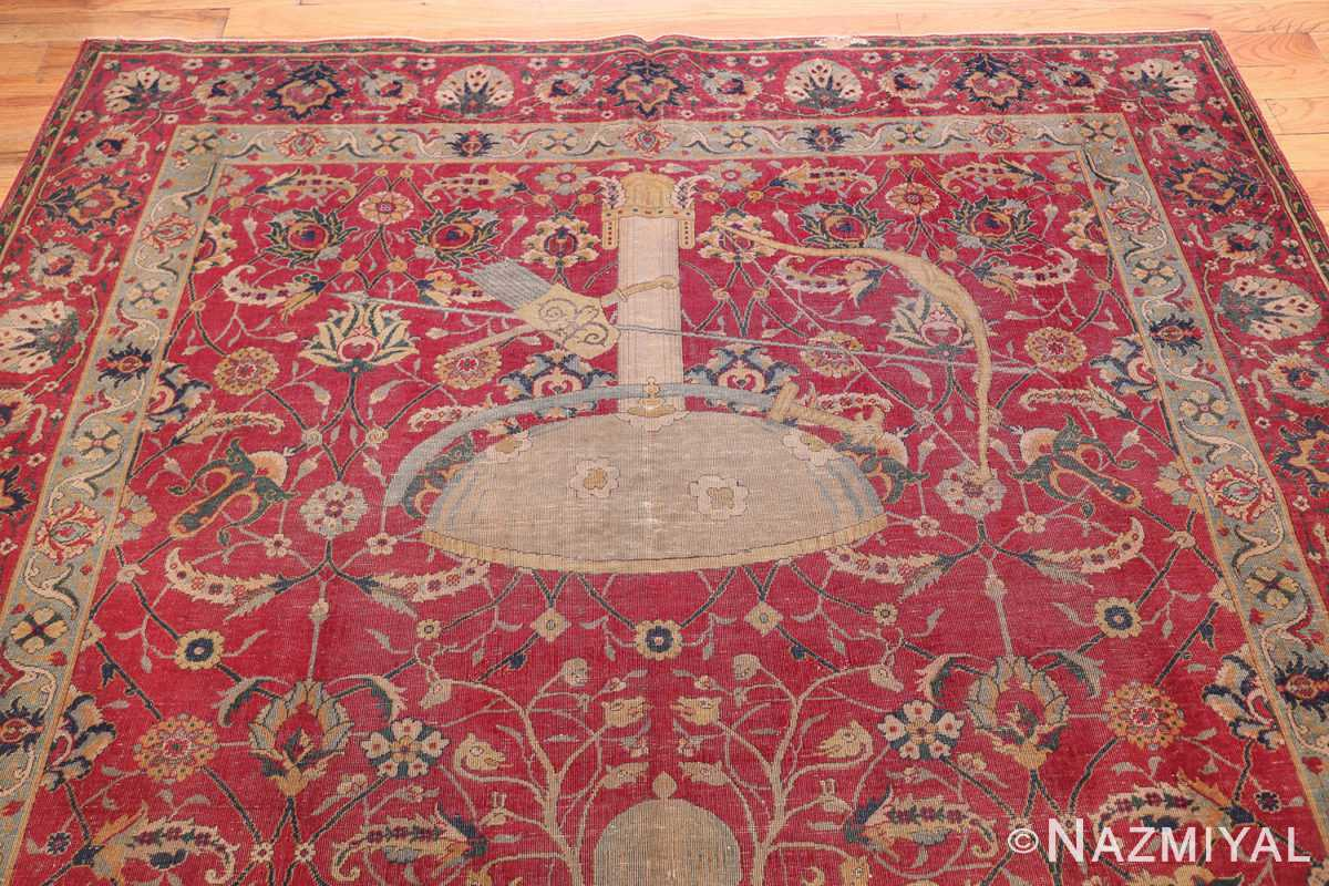 rare and collectible antique turkish tuduc rug 786 top Nazmiyal