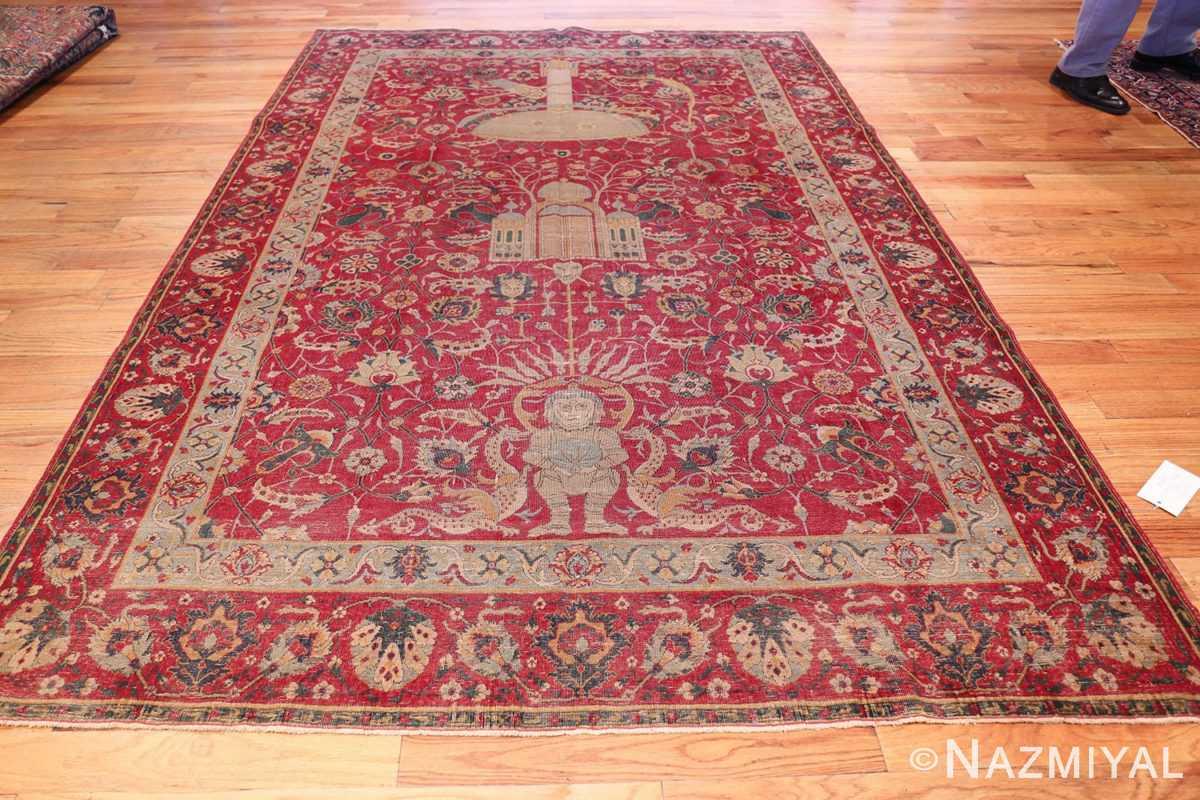 rare and collectible antique turkish tuduc rug 786 whole Nazmiyal
