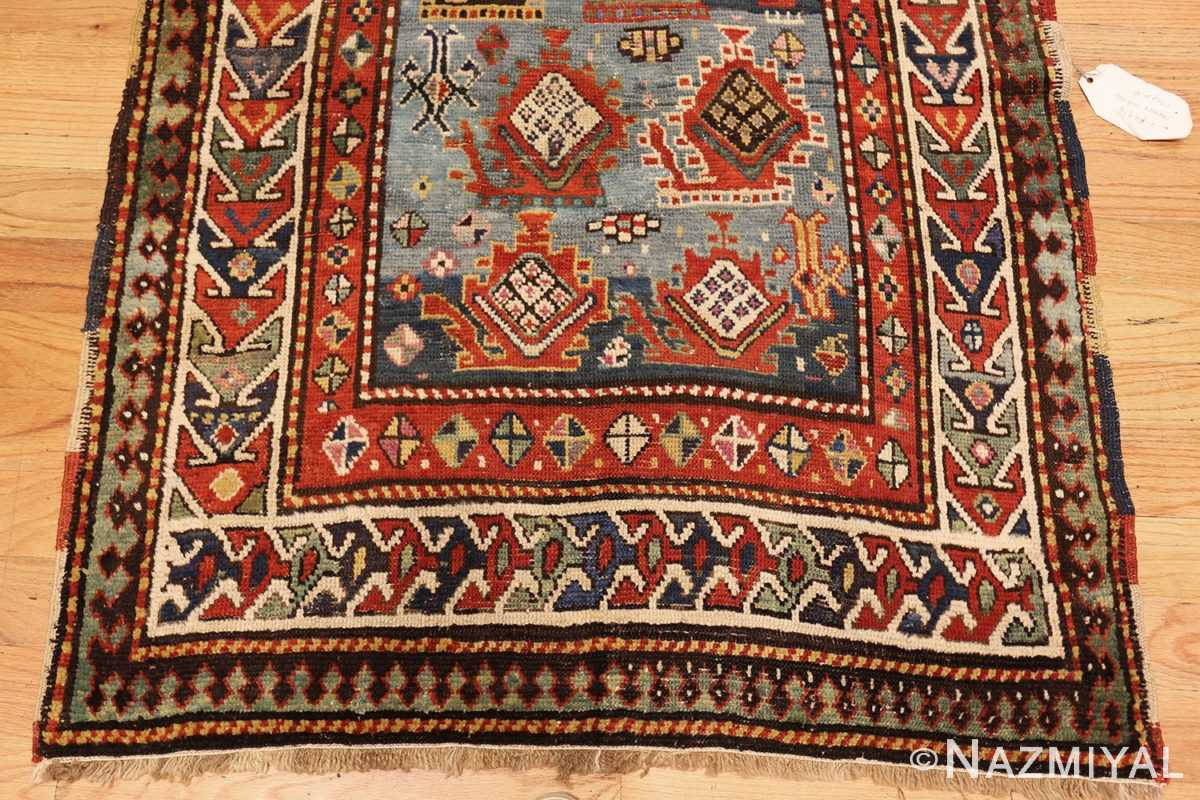 tribal antique caucasian kazak rug 44563 down Nazmiyal