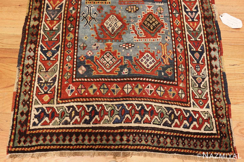 tribal antique caucasian kazak rug 44563 down Nazmiyal