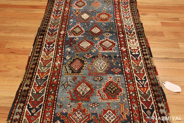 tribal antique caucasian kazak rug 44563 field Nazmiyal